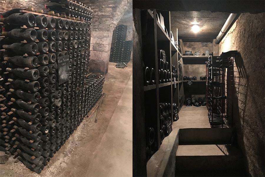 Lagerung im Keller von Remoissenet