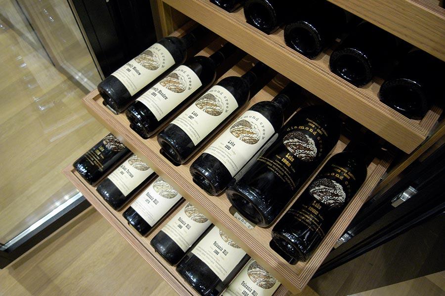 Optimale Lagerung im Weinkühlschrank