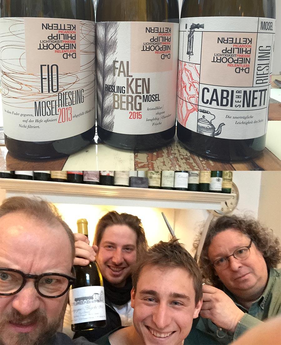 Fio Wines - Dirk & Daniel Niepoort und Philipp Kettern