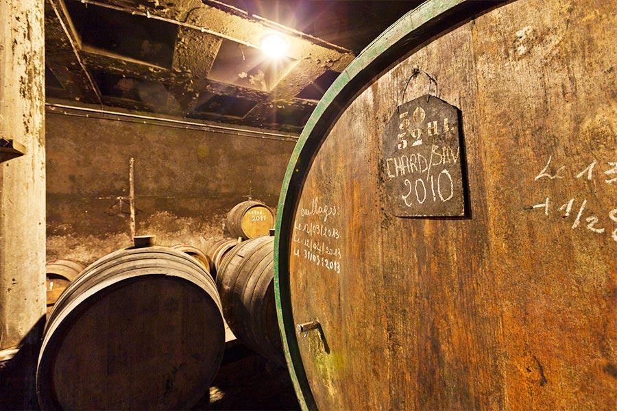 Ouillage - Verdunsteter Wein wird wieder aufgefüllt