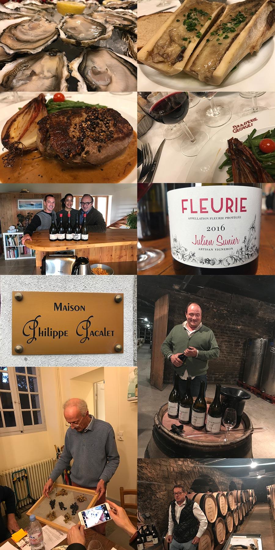 Sommelier-Reise in Jura, Burgund, Beaujolais