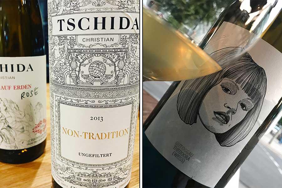 Non Tradition & Himmel auf Erden Rosé von Christian Tschida | Theodora von Gut Oggau