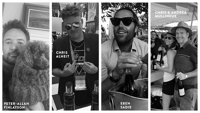 Unser Winzer aus Südafrika: Peter-Allan Finlayson, Chris Alheit, Eben Sadie, hris Mullineux