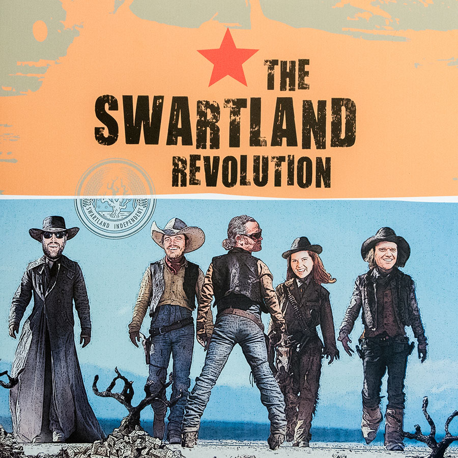 Poster der Swartland Revolution: