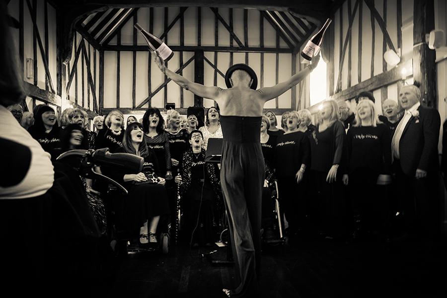 Foto eines Chors