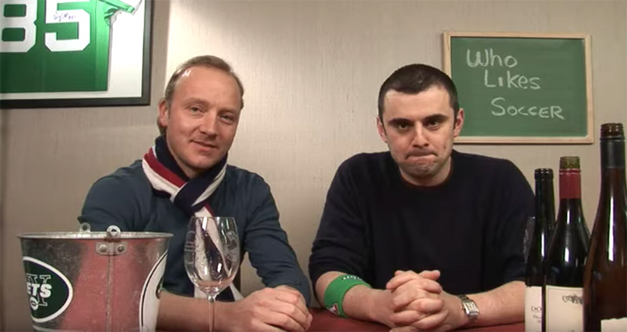 Hendrik Thoma und Gary Vaynerchuck im WineLibraryTV-Studio