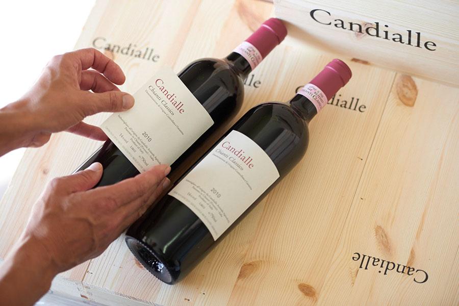 Flaschen Candialle