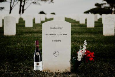 Die letzte Flasche!