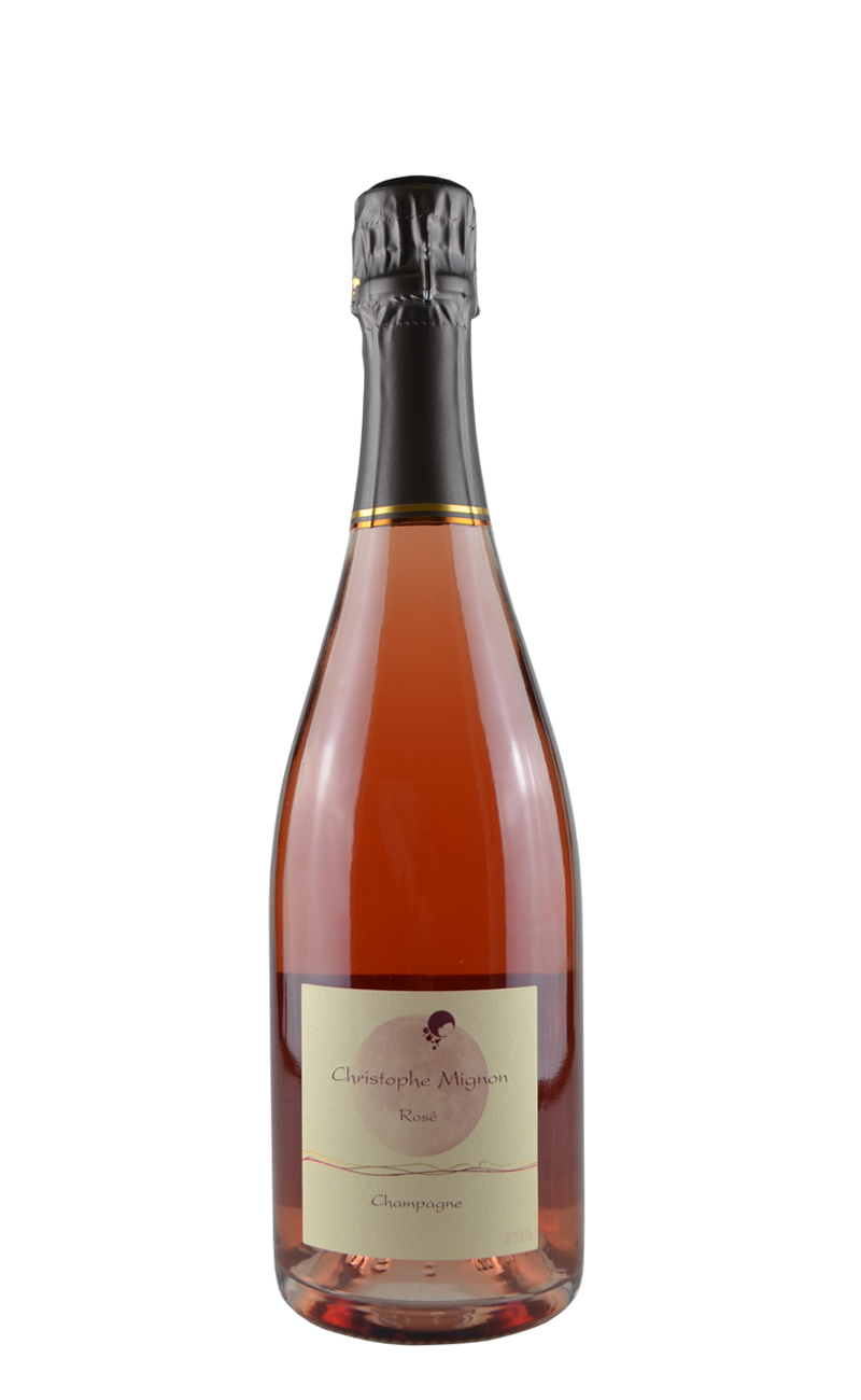 ROSÈ D'ASSEMBLAGE - BRUT-Christophe Mignon, Champagne