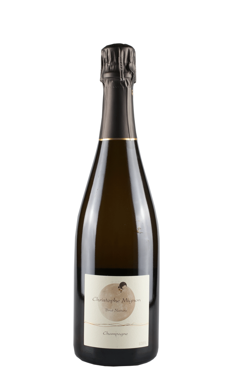 PUR MEUNIER - BRUT NATURE-Christophe Mignon, Champagne