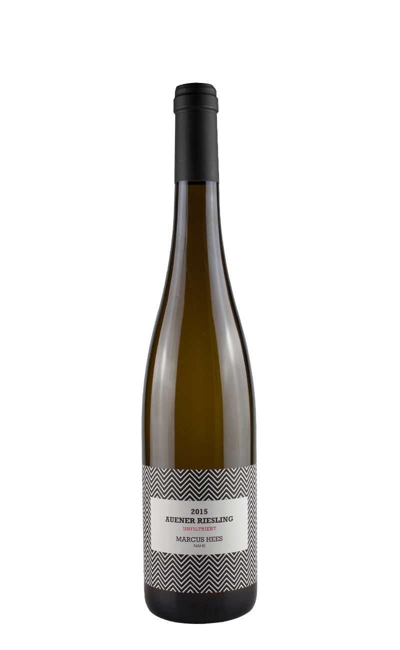 2015 AUENER RIESLING UNFILTRIERT-Marcus Hees, Nahe